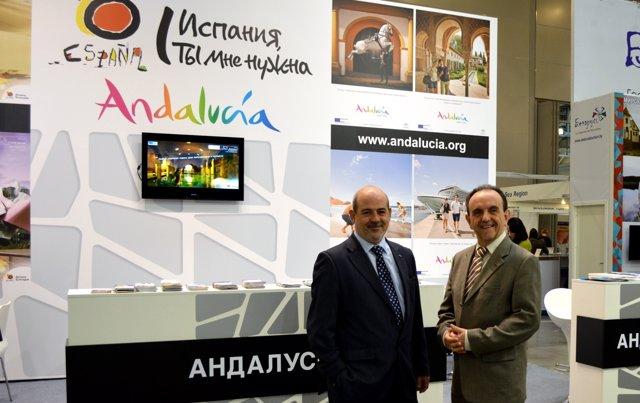 Andalucía participa en la feria Intourmarket de Moscú.