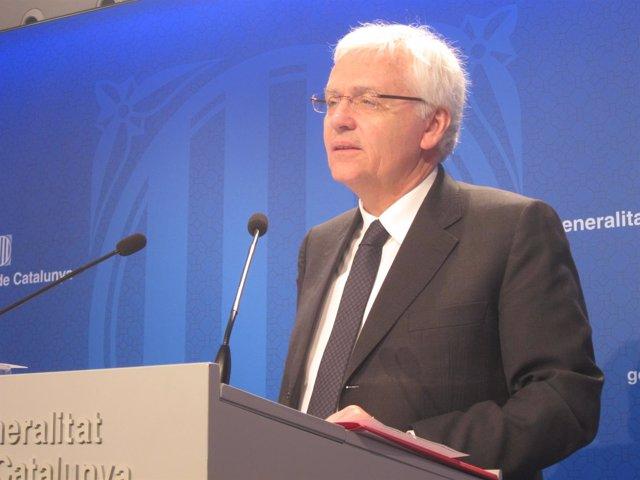Ferran Mascarell, conseller de Cultura de la Generalitat de Catalunya