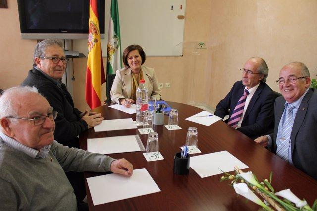 Sánchez Rubio se reúne con Faeco