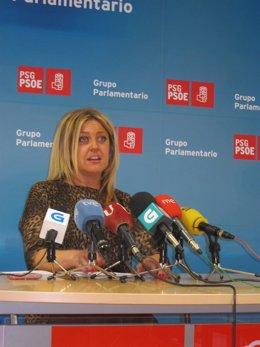 La diputada del PSdeG Beatriz Sestayo