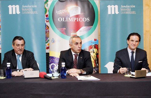 Presentación de la campaña 'Todos Olímpicos'