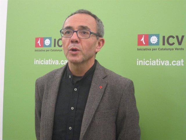 El diputado de ICV en el Congreso, Joan Coscubiela