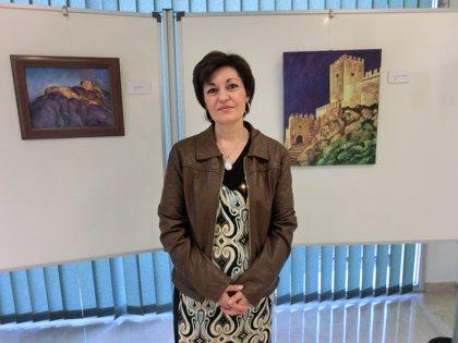 Almería.- Cultura.- La sala 'Espacio de Mujeres' acoge 44 lienzos de María Ángeles Felices en 'Renovada inspiración'