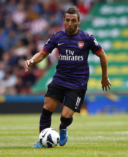 Santi Cazorla renueva con el Arsenal