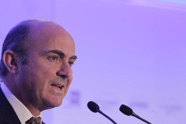 El ministro de Economía y Competitividad, Luis de Guindos, 'Foro Líderes'