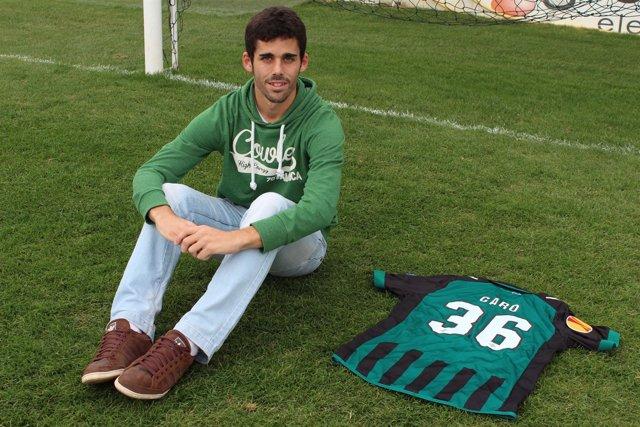 José Antonio Caro, jugador del Betis