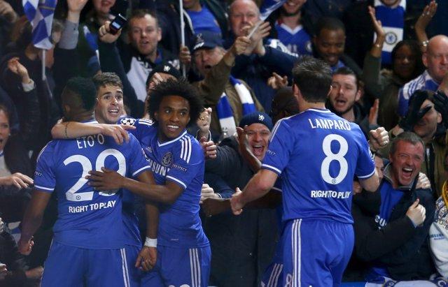El Chelsea se mete en cuartos de 'Champions'
