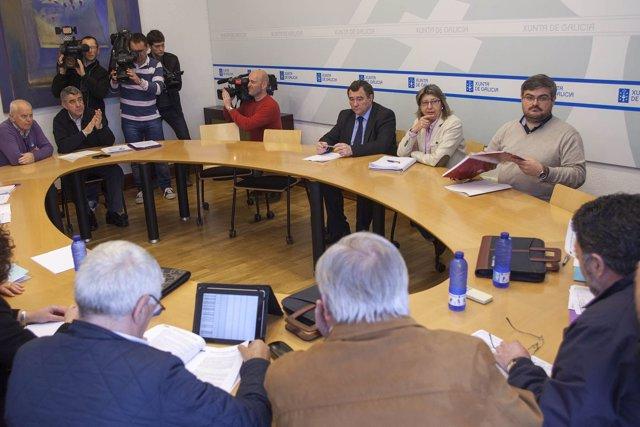 A conselleira do Medio Rural e do Mar, Rosa Quintana, manterá unha reunión con t