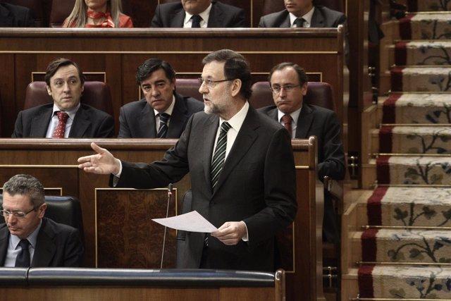 Mariano Rajoy. Sesión de control al Gobierno