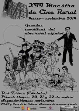 Cartel de la XII Muestra de Cine Rural de Dos Torres