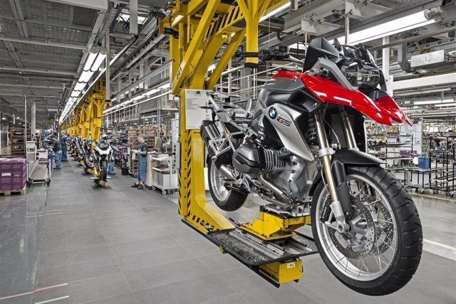 Producción de la BMW GS en Berlín