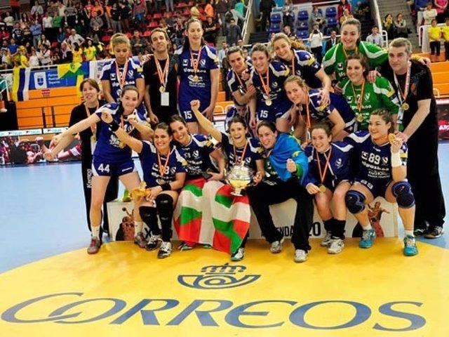 El Bera-Bera celebra el título de Copa