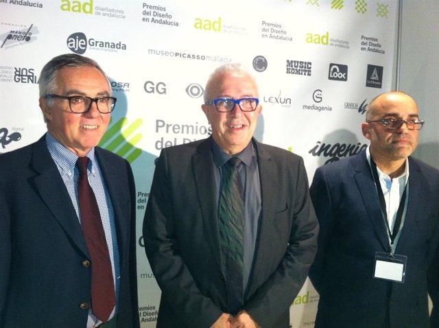 Sánchez Maldonado, en la entrega de los II Premios de Diseño en Andalucía