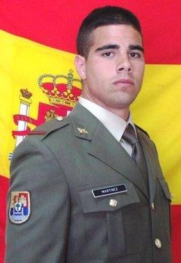 Soldado fallecido en Líbano Carlos Martínez Gutiérrez