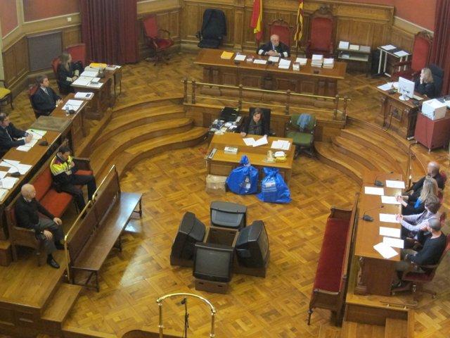 Juicio por el triple crimen de calle Sardenya, en la Audiencia (Archivo)