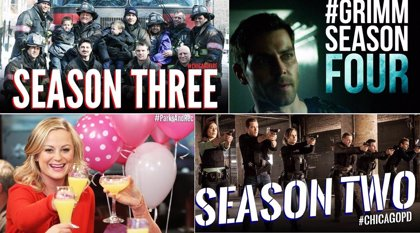 NBC renueva Grimm, Parks and Recreation, Chicago Fire y Chicago PD