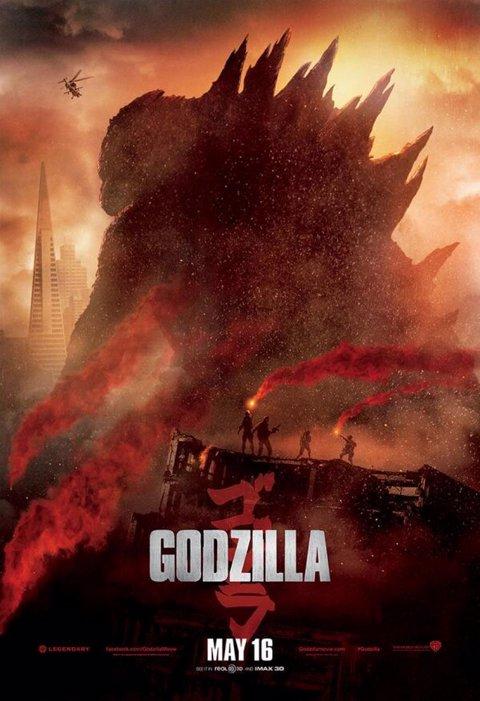 Nuevo póster de Godzilla