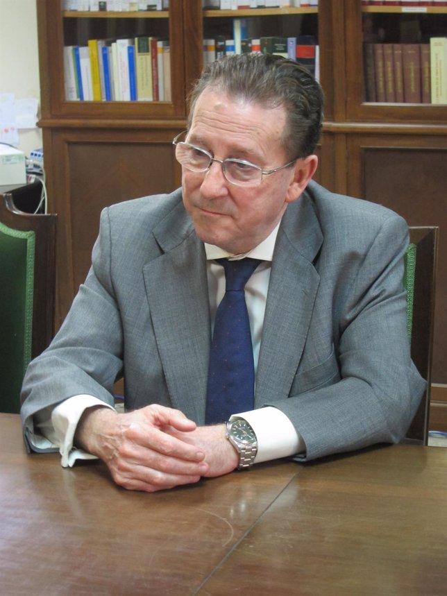 El consejero de Justicia e Interior de la Junta de Andalucía, Emilio de Llera