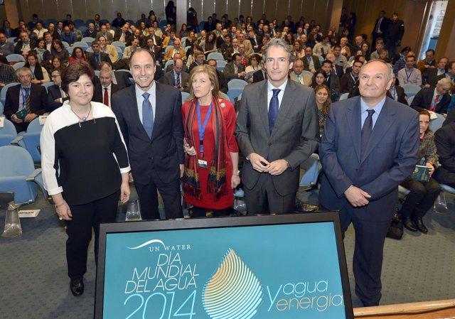 De la Serna participa en la Jornada del Día Mundial del  Agua 2014