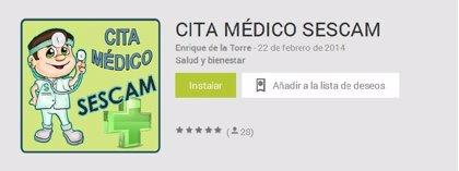CMancha-SESCAM estudia acciones judiciales ante la aparición de una aplicación falsa para móviles para pedir cita médica