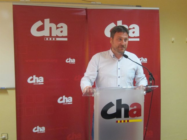 El presidente de CHA, José Luis Soro.
