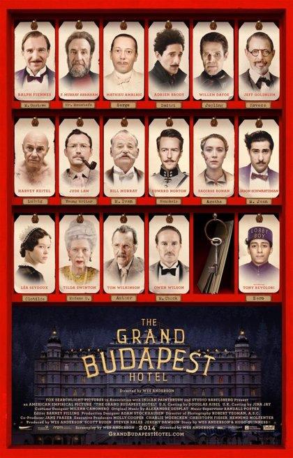 'Gran Hotel Budapest', en versión original subtitulada en Toledo