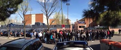 Los antidisturbios celebran una asamblea improvisada por el malestar contra sus jefes y debaten medidas de protesta