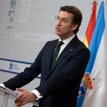 """Feijóo muestra su pesar por """"un presidente que está ya en la Historia de España y en el corazón de todos"""""""