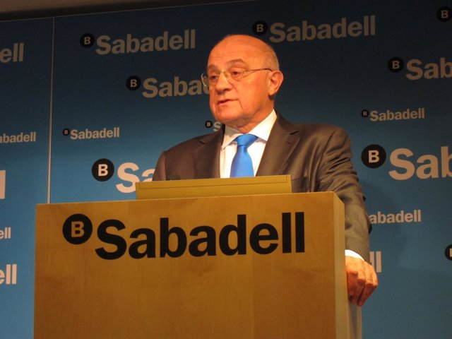 Josep Oliu (Banco Sabadell) (Archivo)