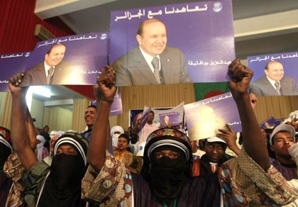 Arranca en Argelia la campaña electoral a las presidenciales