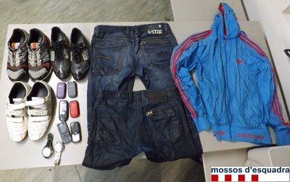 Detenido por siete robos en un club deportivo de Banyoles