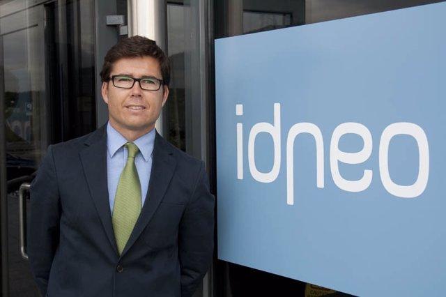El director general de Idneo, Raúl Lucas