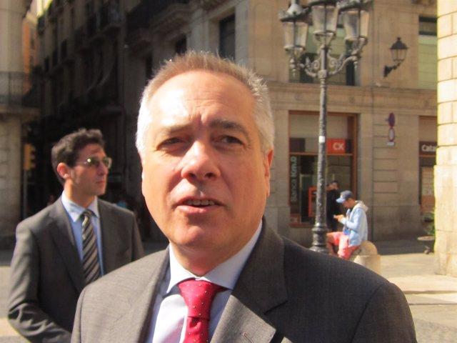 El líder del PSC, Pere Navarro
