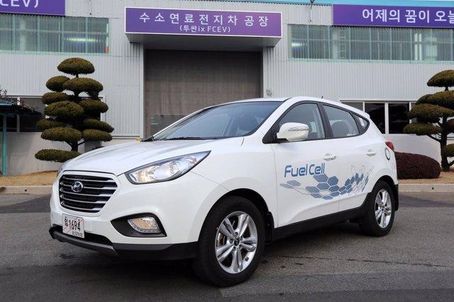 Hyundai ix35 de pila de combustible