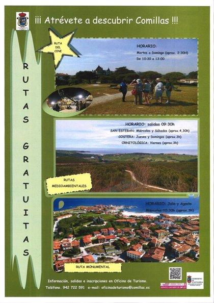 Comillas.- El Ayuntamiento fomenta el turismo ambiental con cuatro rutas