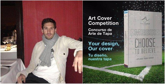 Messi saca a concurso el diseño de la portada de su libro 'Elegí creer'