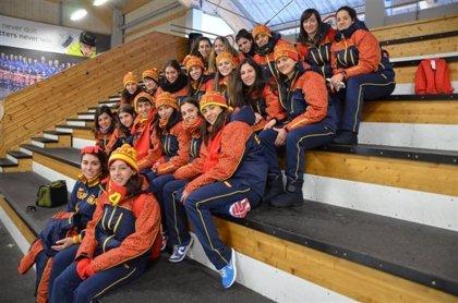 España golea a Bélgica en su debut en el Mundial de hockey hielo