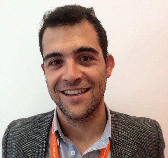Tiago Gaspar, directo de ventas de easyJet en España
