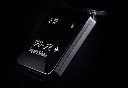 LG muestra su reloj inteligente: G Watch