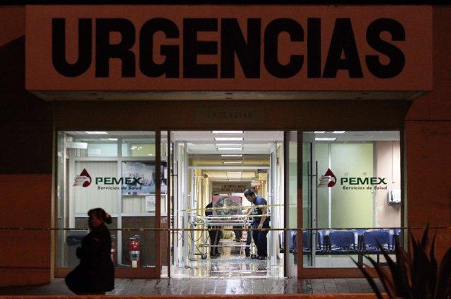 Hospital de Pemex en México