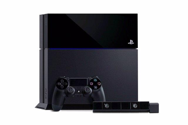 Consola de videojuegos de Sony PlayStation 4