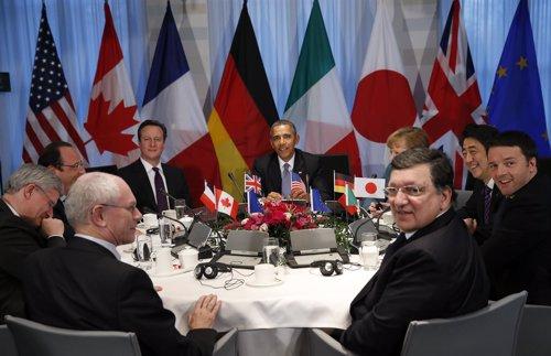 Obama y países del G7