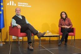 Josep Maria Terricabras y Marta Rovira, ERC
