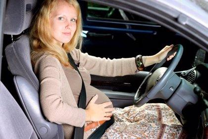 El cinturón de seguridad durante el embarazo