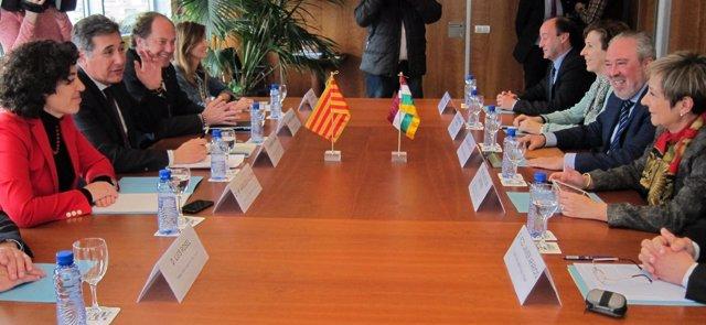 Aragón y La Rioja trabajan en la colaboración sanitaria
