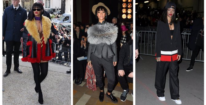 Rihanna se lleva el Premio Icono de Moda