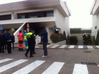 Los bomberos rescatan al futbolista Jesé de un incendio