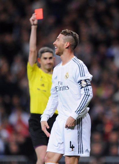 Sergio Ramos no podrá jugar en Sevilla