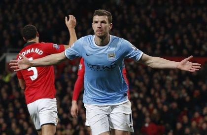 (Crónica) Edin Dzeko decanta el derbi de Manchester