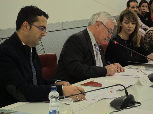Carrión y Cobacho firman carta de intenciones para la recaudación de fondos